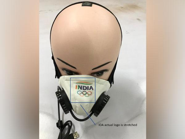 Athletes will soon be able to train with battery-powered masks