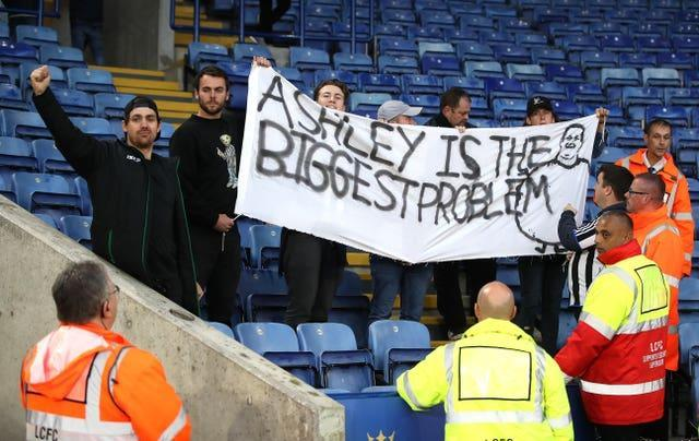 Newcastle fans hope to have a change in ownership