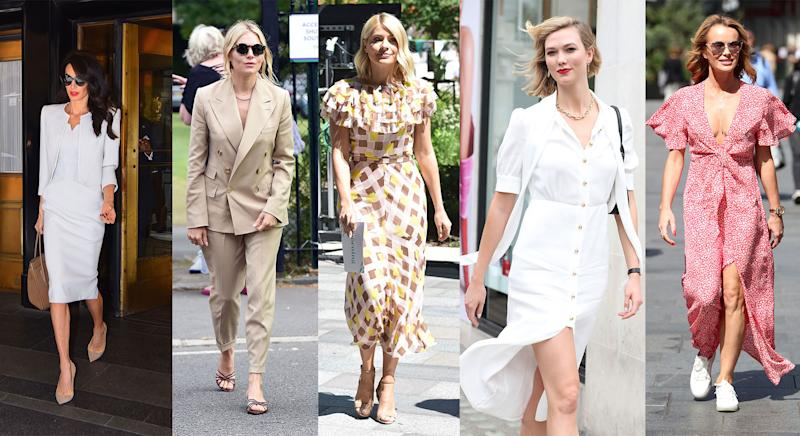 Get your off-duty street style inspiration from some of the hottest celebrities