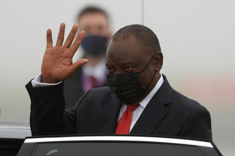 Ramaphosa has expressed fears of a disruption to supply chains including energy, food and the fight against the Covid-19 pandemic