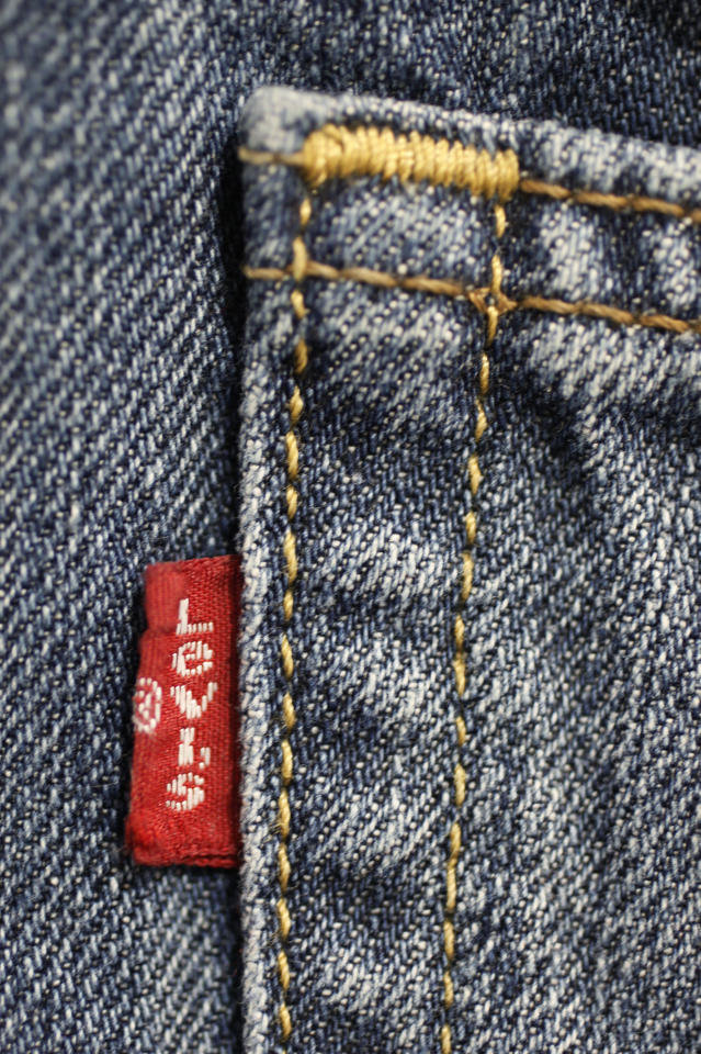 In this Feb. 4, 2011 photo, Levi's jeans are displayed at Costco in Mountain View, Calif. Cotton has more than doubled in price over the past year, reaching the highest since the Civil War and the price of other synthetic fabrics has jumped almost just as much as demand for alternatives and blends has risen. (AP Photo/Paul Sakuma)