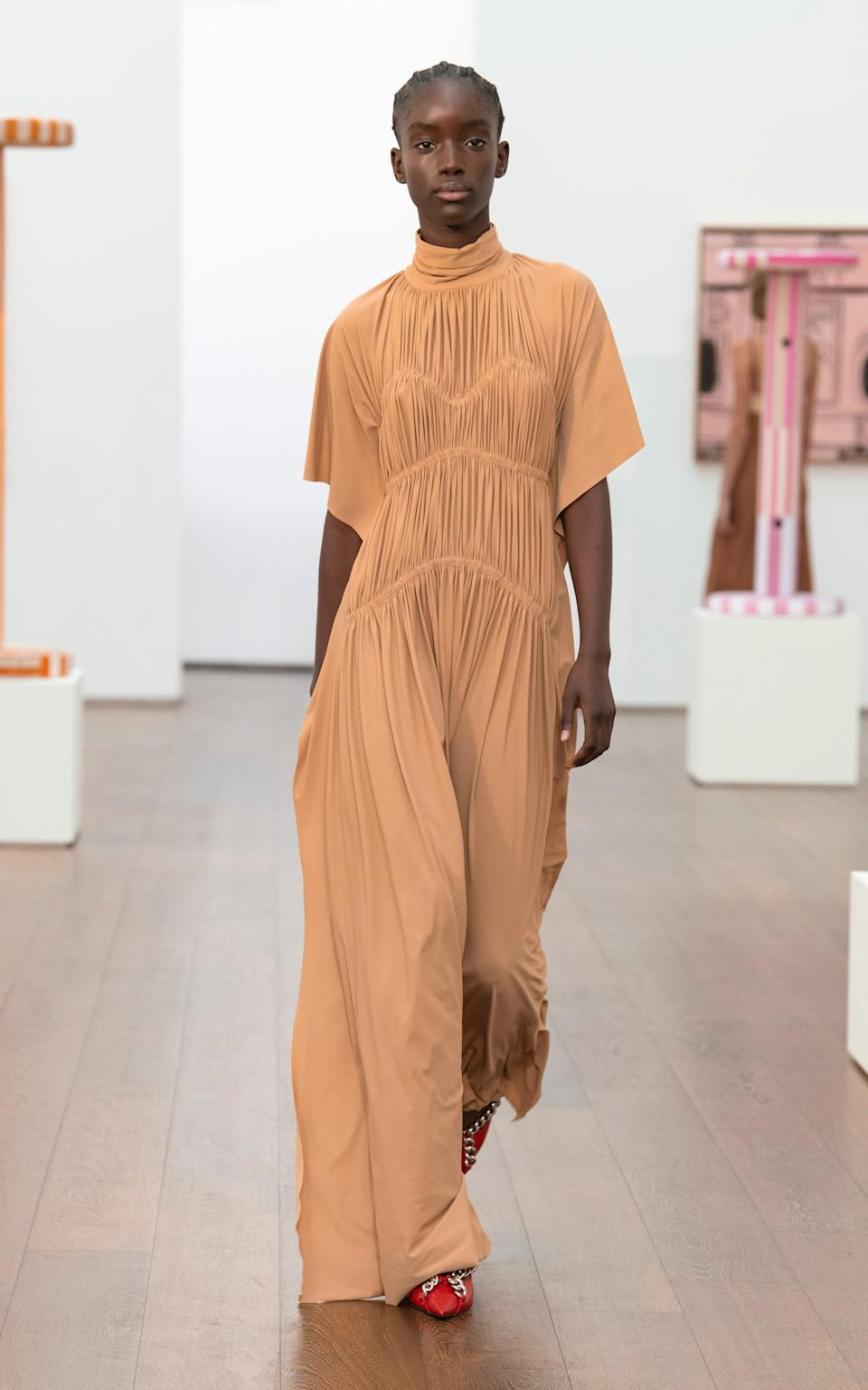 A look from Victoria Beckham's spring/ summer 2021 collection