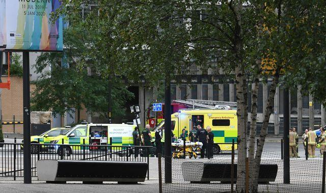 Boy thrown from Tate Modern viewing platform can now stand unaided