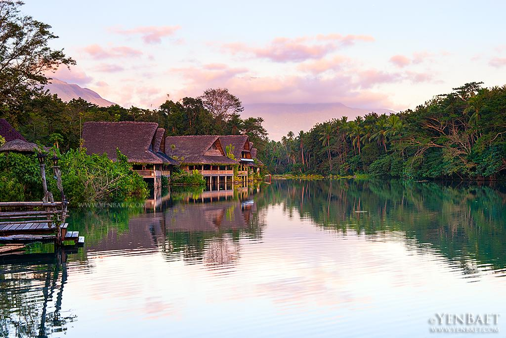 Villa Escudero also offers bamboo rafting on Lake Labasin and a tour of a rural village. (Yen Baet)