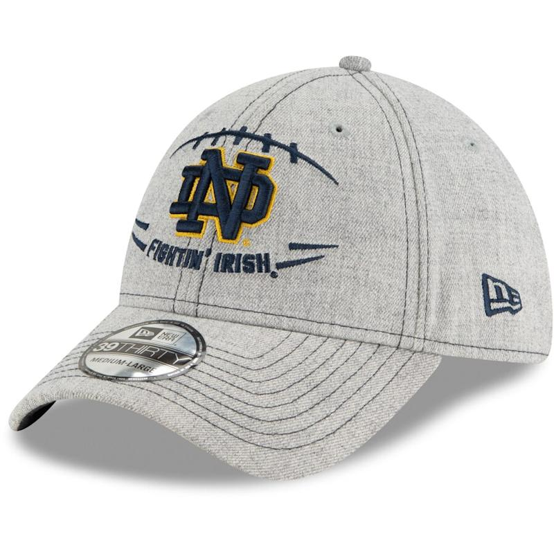 Men's Notre Dame Fighting Irish Heathered Football Hat