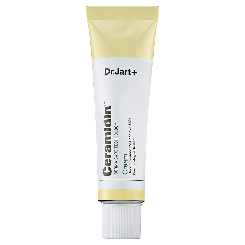 <p>Sufferers of chronically dry skin will find a savior in this <span>Dr. Jart+ Ceramidin Cream</span> ($48). It contains ceramides, which restore moisture and trap it into your complexion, keeping your skin feeling soft and supple.</p>