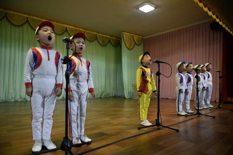 From an early age, North Korean children are taught to revere the country's rulers