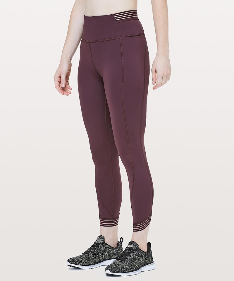 """<p><strong>Lululemon</strong></p><p>lululemon.com</p><p><strong>$118.00</strong></p><p><a rel=""""nofollow"""" href=""""https://shop.lululemon.com/p/women-pants/Find-Focus-78-Tight-25/_/prod9080135"""">Shop Now</a></p><p>""""Taurus prefers to feel safe and secure,"""" says Furiate, and she appreciates high-quality pieces. These leggings are part of Lululemon's """"Hugged Sensation"""" category, so the snug fit is great for Taurus. The muted color options are also Earth-sign friendly, and the striped waistband detail adds a little something-something.</p>"""