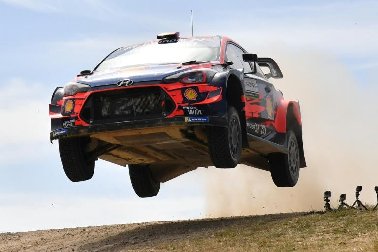 Belgian contender Thierry Neuville, who won his maiden race in Germany in 2014, warns each day is liable to throw up very different conditions (AFP Photo/Andreas SOLARO)
