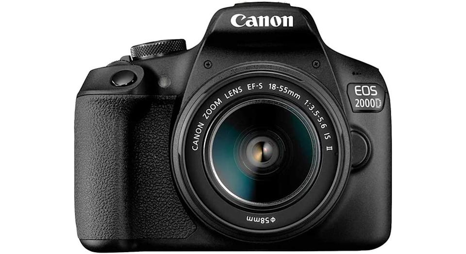 Canon EOS 2000D DSLR Camera