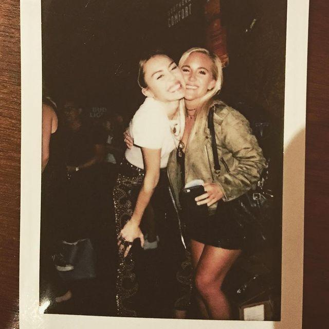 """<p>If you spent your adolescent years singing Miley Cyrus's """"7 Things"""" and wondering about her """"best friend Lesley,"""" guess no longer. The singer's actual childhood best friend is Lesley Patterson, and the pals still keep in touch. Lesley posted about reconnecting with Miley in 2017 at her latest album release party <a href=""""https://www.instagram.com/p/BZqAaGLBBpH/"""" rel=""""nofollow noopener"""" target=""""_blank"""" data-ylk=""""slk:on Instagram"""" class=""""link rapid-noclick-resp"""">on Instagram</a>. """"I think our face says it all! Loved seeing my girl kill it tonight and I couldn't be more proud!"""" she captioned a polaroid of the pair. </p><p><a href=""""https://www.instagram.com/p/BZqAaGLBBpH/?utm_source=ig_embed&utm_campaign=loading"""" rel=""""nofollow noopener"""" target=""""_blank"""" data-ylk=""""slk:See the original post on Instagram"""" class=""""link rapid-noclick-resp"""">See the original post on Instagram</a></p>"""