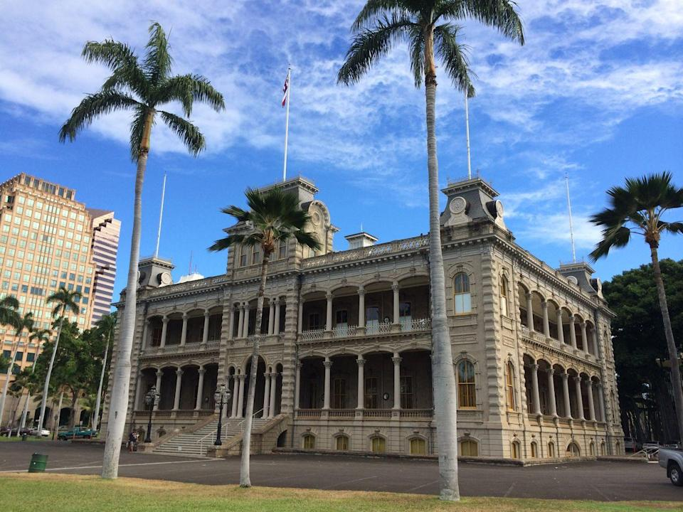 """<p>Take a break from the beach and see a different side of Honolulu through a 2 and 1/2 hour <a href=""""http://www.aiahonolulu.org/"""" rel=""""nofollow noopener"""" target=""""_blank"""" data-ylk=""""slk:architectural walking tour of Honolulu"""" class=""""link rapid-noclick-resp"""">architectural walking tour of Honolulu</a>. Lead by a guide from American Institute of Architects Honolulu, the tour provides the interesting backstory of sites including the Iolani Palace and the circa-1920 Hawaii Theatre. </p>"""