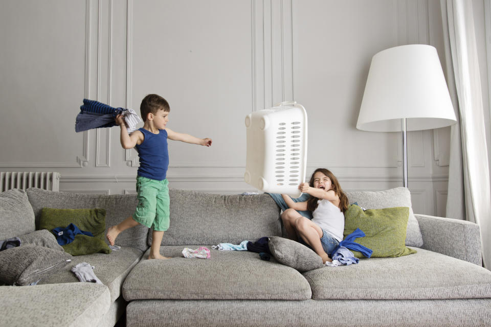 Parents are feeling the strain of sibling fights. (Getty Images)