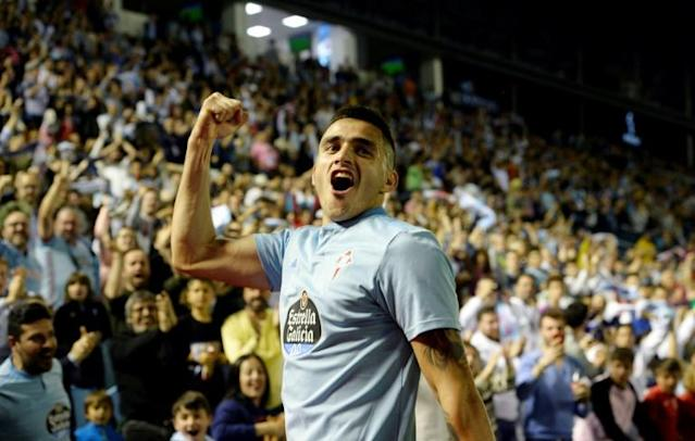 Maxi Gomez scored 31 times for Celta (AFP Photo/Miguel RIOPA)