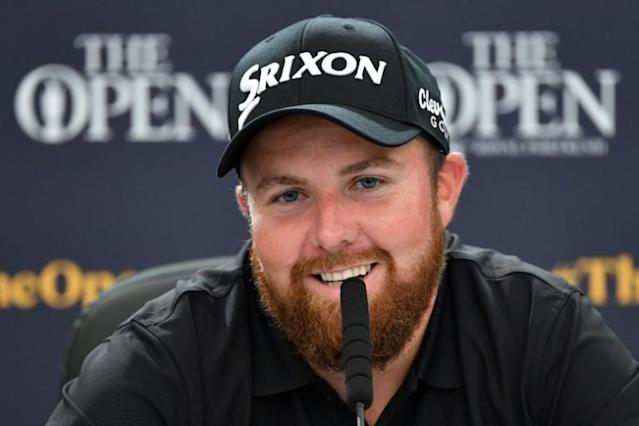 Ireland's Shane Lowry is thriving off the support coming his way at Royal Portrush (AFP Photo/Paul ELLIS)