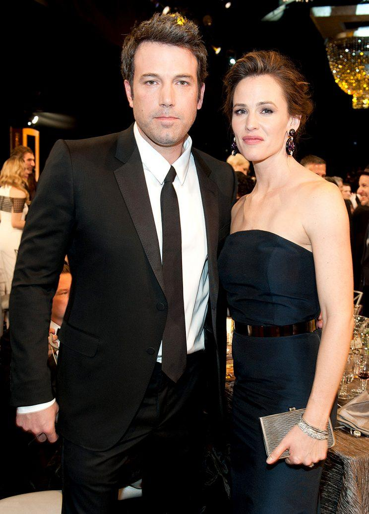 Ben Affleck and Jennifer Garner at the SAGs.