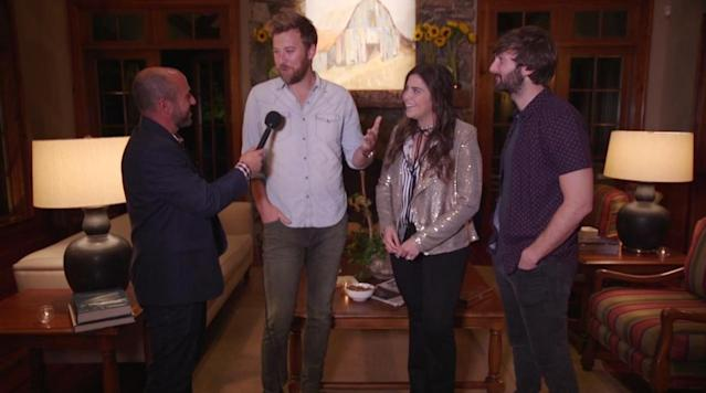 A green jacket or a Grammy for Lady Antebellum?