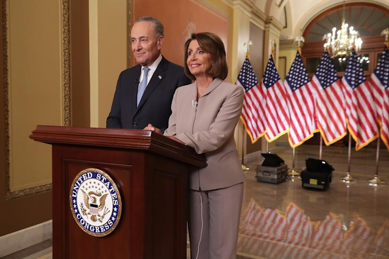 1ae3c9cb7 Nancy Pelosi and Chuck Schumer: The Best Memes of Their Response to Trump's  Prime-Time Address