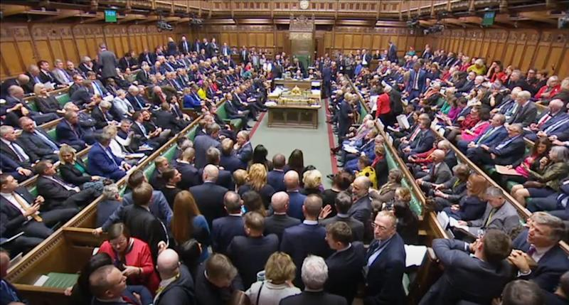 MPs have accepted the Letwin amendment, which seeks to avoid a no-deal Brexit on October 31, after Prime Minister Boris Johnson's new Brexit deal was debated in the House of Commons, London.