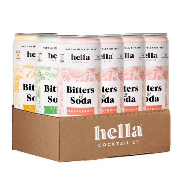 """<p>hellacocktail.co</p><p><strong>$35.95</strong></p><p><a href=""""https://hellacocktail.co/products/bitters-soda-zero-sugar-variety-pack-grapefruit-lemon-lime-ginger-turmeric"""" rel=""""nofollow noopener"""" target=""""_blank"""" data-ylk=""""slk:Shop Now"""" class=""""link rapid-noclick-resp"""">Shop Now</a></p>"""