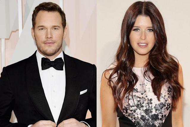 Chris Pratt and Katherine Schwarzenegger have been seen on multiple dates together this summer. (Photos: Getty Images)