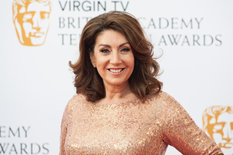 LONDON, UNITED KINGDOM - MAY 13: Jane McDonald attends the Virgin TV British Academy Television Awards ceremony at the Royal Festival Hall on May 13, 2018 in London, United Kingdom. (Photo credit should read Wiktor Szymanowicz / Barcroft Media via Getty Images)