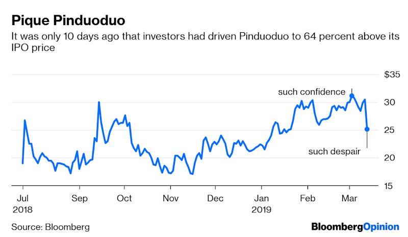 If You Can Explain China's Pinduoduo, Lunch Is on Me