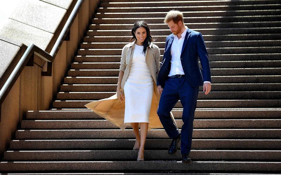 The Duke and Duchess of Sussex - AFP