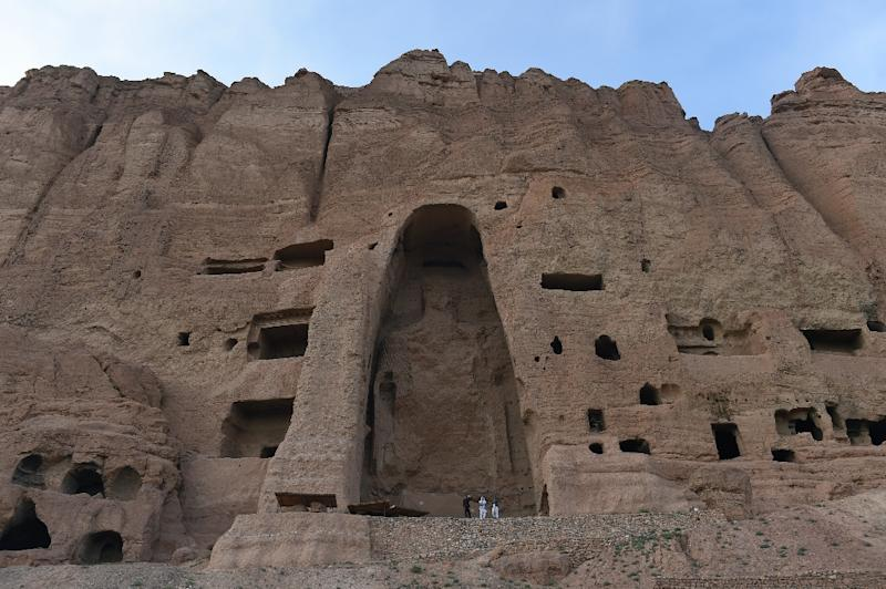 In March 2001, Afghan Taliban leader Mullah Omar ordered the destruction of two 1,500-year-old Buddha statues in the eastern town of Bamiyan, because they were judged to be anti-Islamic (AFP Photo/Shah Marai)