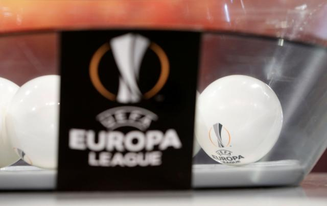 Soccer Football - Europa League Quarter-Final Draw - Nyon, Switzerland - March 16, 2018 General view of the balls during the draw REUTERS/Pierre Albouy