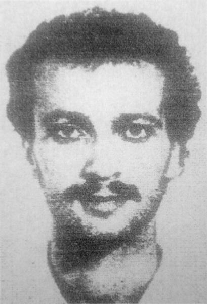 This reproduction of a photograph released in 2009 by Argentina's Public Prosecutor's office reportedly shows Salman Raouf Salman, wanted in the attack on a Jewish center (AFP Photo/HO)