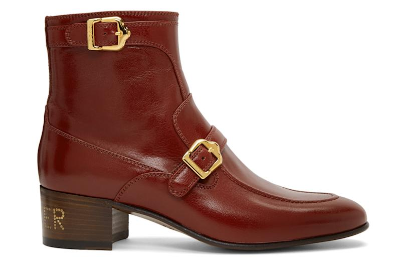 gucci, red ebal boots, boots