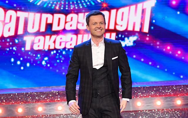 "Saturday 7 April Ant & Dec's Saturday Night Takeaway ITV, 7.00pm It can't be easy hosting a show as exuberant as Saturday Night Takeaway on your own but Declan Donnelly made a solid if understandably restrained go of it last week. He ensured that the light entertainment series proceeded pretty much as normal in the absence of long-time work partner Ant McPartlin, whose travails were sensibly referenced only in very brief passing (""I've got twice the amount of work to do,"" Donnelly noted at one point before mock-berating the production crew that ""I'll have to do it myself, like everything else around here this week""). That said, this final episode ups the ante as Donnelly takes the show on the road to the Universal Orlando Resort in Florida. Once there we're promised a ""super-sized"" edition featuring stunts, surprises and ""extra-special"" guests. No word yet as to who those guests will be but expect Donnelly to continue making the best of a difficult situation, buoyed by extra support from Scarlett Moffatt, who is in charge of ensuring that the Place on the Plane winners have a wonderful time, and Stephen Mulhern, who has the possibly less than enviable task of explaining In for a Penny to an American audience. Sarah Hughes Premier League Football: Everton v Liverpool Sky Sports Main Event, 12.30pm Tired, perhaps, from their Champions League quarter-final first leg against Man City, Liverpool face their bitter local rivals Everton at Goodison Park. The home side, who've won three of their last six games, haven't beaten Liverpool since October 2010, when Tim Cahill and Mikel Arteta gave them a 2-0 victory. Premiership Rugby Union: Bath v Leicester Tigers Channel 5, 1.30pm Time was when Bath and Leicester were the titans of English rugby. Currently they are fifth and eighth in the league, respectively. In September, Bath claimed a 27-23 win at Welford Road, as they held on for their first away win at Leicester since 2003, ensuring an unhappy return for George Ford against the club he left in the summer. The two sides also met in the Anglo-Welsh Cup at the Recreation Ground in November, where Bath also emerged victorious, beating Leicester 33-31 on that occasion. Premier League Football: Manchester City v Manchester United Sky Sports Main Event, 5.30pm What better way for Pep Guardiola's Manchester City to clinch the title than by beating second-placed Manchester United at the Etihad Stadium. Sixteen points ahead of them in the table, City have been formidable this season, winning 27 of the 31 league games they've played. One of those victories came at Old Trafford, with a goal from Nicolas Otamendi giving City a 2-1 victory when these sides met in December. Britain's Most Historic Towns Channel 4, 8.00pm Alice Roberts is our guide for this new six-part series, which sees her search the UK for the places that best sum up an historical era. The first era is Roman Britain, so Roberts heads to Chester, where she abseils down walls, hunkers in caves and uncovers the truth about the city. Casualty BBC One, 8.20pm The medical drama's storyline about Dylan's (William Beck) alcoholism continues to be sensitively handled as the medic's ex-wife Sam (Charlotte Salt) worries about whether she can help him. Meanwhile, Ethan (George Hardy) struggles with his own demons as he realises that a patient is related to his brother's killer. The Voice UK: Live Final ITV, 8.30pm Every reality TV idea has an allotted shelf life and it's hard not to feel that musical talent contests have come to the end of their run. For those who disagree, The Voice UK's grand finale is here and the final four battle it out for public approval. Below the Surface BBC Four, 9.00pm & 9.45pm BBC Four's latest Scandi drama started off tensely but like its predecessor, Modus, it has gone on to become ever more ludicrous. Now it's the final two episodes, and Philip Norgaard (Johannes Lassen) faces off against Mark (Jakob Oftebro), the man behind the hostage crisis. Much heartfelt talking follows, although you may end up feeling more sympathetic towards the damaged Mark than the chilly Norgaard. Pearl Jam: Let's Play Two Sky Arts, 9.00pm When is a music documentary not a music documentary? When it's also a sports film. This exuberant film, which was made following the Chicago Cubs' victory in baseball's World Series in 2016, follows die-hard Cubs fan and Pearl Jam lead singer Eddie Vedder as he cheers on his team during their championship run while also preparing the band for two August shows at the team's Wrigley Field Stadium. The result is an affectionate portrait of the singer as fan. SH Troy: Fall of a City BBC One, 9.10pm David Farr's epic series reaches its climax with the arrival of the most famous horse in history. After an uninspiring start, Troy has picked up in recent weeks and the final episode is a well-handled tale of betrayal and death. It's a curate's egg of a series, let down by poor casting. SH X-Men (2000) ★★★★☆ Film4, 7.00pm Bryan Singer directs an all-star cast that includes Patrick Stewart, Hugh Jackman, Ian McKellen and Halle Berry, in the first of the X-Men franchise. A group of mutants must decide whether to side with Professor Xavier (Stewart) or the evil Magneto (McKellen) in what is a solid opening to the series and which paved the way for plenty of big-budget sequels. This is followed by X-Men 2 and X-Men 3 at 9.00pm and 11.35pm respectively. Legend (2015) ★★★☆☆ Channel 4, 9.00pm Tom Hardy gives a solid, convincing performance as east London gangster Reggie Kray but his caricatured portrayal of twin brother Ronnie lets him down, and this inconsistency leads to an entertaining though muddled film. Emily Browning, however, gives just the right mix of defiance and despair as Frances Shea, Reggie's put-upon wife. Watch out for some particularly gory scenes. Lethal Weapon 2 (1989) ★★★☆☆ ITV4, 9.05pm Mel Gibson sports his signature Eighties mullet in the second film of this daft-but-fun action franchise. LAPD officer Riggs (Gibson) teams up once again with his partner Murtaugh (Danny Glover) to track down a band of South African criminals while protecting a painfully frenzied witness (Joe Pesci). Naturally, the pair find themselves drawn into violent action sequences orchestrated by stereotypical bad guys. Sunday 8 April Hostess with the mostest: Catherine Tate presents the awards Credit: ITV The Olivier Awards 2018 ITV, 10.20pm Last year, Harry Potter and the Cursed Child swept the board with nine Olivier Awards, something that looked impossible to top. But then came Lin Manuel Miranda's blockbuster musical Hamilton, whose West End run has received reviews every bit as rapturous as those from its Broadway debut. The show has a record-breaking 13 nominations, which it is thought will be translated into awards. After being snubbed for Jerusalem, Jez Butterworth will surely be rewarded for his equally magisterial play The Ferryman (its eight nominations include best play and best director for Sam Mendes), while contenders in the acting categories include Bryan Cranston for Network, Andrew Garfield for Angels in America and Lesley Manville for Long Day's Journey into Night. Catherine Tate will be on hosting duties for the event at the Royal Albert Hall, which will, as usual, feature a crop of stellar performances; this one will include a special tribute to Joseph and the Amazing Technicolor Dreamcoat, which turns 50 this year. Let's hope the organisers bring together Josephs of the past for a big singalong: Jason Donovan, Phillip Schofield, Ian ""H"" Watkins and Lee Mead will all, one suspects, be available. Gabriel Tate Sex Robots and Us BBC Three, from 10.00am James Young, an amputee who created his own bionic arm, meets the people who design sex robots and hears about their plans for them, from being given to old people's homes to ""employment"" in brothels. But is it the harmless, even socially responsible pursuit thatthey claim? Formula 1: The Bahrain Grand Prix Sky Sports F1, 3.30pm After the Australian Grand Prix – in which Sebastian Vettel took advantage of a safety-car blunder to win under pristine Melbourne skies – attention turns to the second round of the season at the Bahrain International Circuit in Sakhir. Another blunder cost Lewis Hamilton on this circuit last year – this time it happened in the pit lane, with Vettel capitalising to win by 6.6 seconds. The Generation Game BBC One, 8.00pm How do you top last week's cavalcade of silliness in this rebooted game show? You rope in Danny Dyer to join Mel Giedroyc, Sue Perkins and panellists Melvin Odoom and Roisin Conaty for challenges that include cake decorating, balloon modelling and dancing the Argentine Tango. The Durrells ITV, 8.00pm In the fourth episode of the popular drama, Larry (Josh O'Connor) visits Athens with two oddly named guests – Captain Creech (James Cosmo) and Prince Jeejeebuoy (Tanmay Dhanania) – in tow. There, they offer advice to Gerry (Milo Parker), who is applying for a new school. Jesus' Female Disciples: the New Evidence Channel 4, 8.00pm For centuries, the birth of Christianity was regarded as a largely male affair, with women as only bit-part players. Now, Bible experts Helen Bond and Joan Taylor have discovered evidence that women were involved in everything from preaching and baptising to funding the movement as it grew. This absorbing documentary follows the historians' progress. Golf: The Masters Sky Sports Main Event, 8.00pm Prepare for a dramatic finale as this year's first Major – from the Augusta National in Georgia – concludes. Last year, Spain's Sergio Garcia won the coveted green jacket, beating Justin Rose in a tense play-off. Ordeal by Innocence BBC One, 9.00pm Sarah Phelps's splendid adaptation continues, as Arthur Calgary (Luke Treadaway) resolves to prove the truth about Jack Argyll's (Anthony Boyle) alibi by any means necessary. GT Folk Awards 2018 BBC Four, 9.00pm Mark Radcliffe and Julie Fowlis introduce highlights from this year's Radio 2 Folk Awards in Belfast. It features performances from Cara Dillon, Lankum and Eliza Carthy and the Wayward Band. The great Nick Drake will also be inducted into the Hall of Fame, his genius long-established, even if such recognition eluded him during his short life. Producer Dónal Lunny, meanwhile, receives the Lifetime Achievement Award for decades of tireless work promoting the renaissance in Irish music, plus The Armagh Pipers Club are presented with the Good Tradition Award. GT Emma (1996) ★★★★☆ BBC Two, 3.00pm Gwyneth Paltrow's American iciness melts in this deft adaptation of Jane Austen's classic comic romance. She is Emma Woodhouse, spoilt, charming and an inveterate meddler. Only Mr George Knightley (Jeremy Northam) dares challenge her behaviour – but what are his motives? A clever film with a superb supporting cast, including Toni Collette, Alan Cumming and Ewan McGregor. United 93 (2006) ★★★★☆ Sky Cinema Greats, 9.55pm Director Paul Greengrass's boneshaking, real-time take on the final hours of the United Airlines plane whose passengers rebelled against their hijackers on September 11, 2001 feels uncomfortably realistic. Greengrass, whose signature rapid cutting made the second and third Bourne films so exciting, proves expert at handling the most infamous atrocity of modern times with intelligence and sobriety. Tinker Tailor Soldier Spy (2011) ★★★★☆ Channel 4, 11.00pm This superb adaptation of John le Carré's brilliant, intricate Cold War spy novel is a triumph. The espionage drama follows the hunt for a Soviet double agent at the top of the British secret service, with Gary Oldman spearheading the excellent ensemble cast, which includes Colin Firth, Tom Hardy, John Hurt and Benedict Cumberbatch. It's funny, seductive and suspenseful. Monday 9 April I spy: a recruit sees if she's got what it takes to be an SOE agent Credit: BBC Secret Agent Selection: WW2 BBC Two, 9.00pm Not unlike Channel 4's SAS: Who Dares Wins and BBC Two's Astronauts: Do You Have What It Takes?, this absorbing new series puts a group of recruits through a series of gruelling physical and psychological challenges to see if they could make the grade as a secret agent according to an established selection test used during the Second World War. This test was used by the Special Operations Executive (SOE) to determine whether recruits from many different walks of life would be capable of being dropped behind enemy lines and surviving as a covert officer with a brief to cause the maximum disruption possible to the enemy in the territory. As with the original SOE, the 14 candidates come from diverse backgrounds (among them a research scientist, a property developer, former police officer, a drag act performer, a retired investment banker and an Army veteran). In the opening episode, they undergo the initial four-day assessment at a remote Scottish country-house estate. The aim is to winnow out weakness and determine who should win a place on the advanced, and suitably terrifying, course in assassination, sabotage and covert intelligence techniques. Gerard O'Donovan Famalam BBC Three, from 10.00am After a successful pilot last year, Vivienne Acheampong, Gbemisola Ikumelo, Roxanne Sternberg, Tom Moutchi and John MacMillan return with more culturally skewed sketches. Once again, they feature William and Funke's raunchy chat show, misunderstood superhero Eclipse, Croydon's voodoo practitioner Professor Lofuko, and a version of Midsomer Murders. 800 Words BBC One, 2.15pm If you like The Durrells you will definitely want to watch hit Australian comedy drama 800 Words. This gently funny series follows George (Erik Thomson), a widower, who horrifies his teenaged children when he moves the entire family to a remote seaside town in New Zealand. Springtime on the Farm Channel 5, 8.00pm This is the first of five shows this week celebrating the ""great British farmer"", with the help of Yorkshire Vet stars Peter Wright and Julian Norton, Adam Henson of Countryfile and Springwatch's Lindsey Chapman. In this programme, they explore how to cope with the stresses of lambing. MasterChef: The Finals BBC One, 9.00pm Oodles of challenges lie ahead for the remaining amateur chefs in the final week, which takes them as far afield as Peru ahead of Friday's concluding cook-off. First, though, they're off to North Yorkshire to cater a country-house lunch for local grandees and farmers. Lisbon: An Art Lovers' Guide BBC Four, 9.00pm Having covered Barcelona, St Petersburg and Amsterdam in their first series of city-break guides, historian Dr Janina Ramirez and art critic Alastair Sooke jet off to explore three less obvious, art-rich destinations. Beirut and Baku are perhaps the more intriguing but it opens in Lisbon, which built up its art reserves during the centuries Portugal was part of one of the world's great empires, and currently boasts one of the hottest contemporary art scenes in Europe. GO Marcella ITV, 9.00pm This drama's been a little less fraught the second time round but Marcella still pushes the boundaries of credibility. In this concluding part, the heroine (Anna Friel) tracks down the killer, only to suffer one of her unfortunate episodes. GO The Core (2003) ★★★☆☆ Film4, 6.25pm Rome starts to crumble, the Golden Gate Bridge in San Francisco collapses and pigeons go mental in Trafalgar Square. Something is obviously amiss, and this time it isn't climate change. In fact, the Earth's core has stopped rotating and a team of scientists has to build a special burrowing machine to start it spinning again. Hilary Swank, Stanley Tucci and Aaron Eckhart do their best, but the excitement is intermittent. The Emoji Movie (2017) ★☆☆☆☆ Sky Cinema Premiere, 6.30pm In this animated comedy set inside a smartphone, Gene (voiced by T J Miller), an emoji with multiple facial features, sets out on a quest to be like his colleagues who have only one. He does so with the help of apps like Spotify and Candy Crush. Sadly, the result is so horrendous that there aren't enough Patrick Stewart-voiced emojis in the world to express what an ugly, artless exercise this is. Triple 9 (2016) ★★★☆☆ Film4, 9.00pm A gang of criminals and corrupt cops plan to kill a police officer in order to pull off their biggest heist yet in John Hillcoat's crime thriller. There is a lot to like here: a big opening and a strong cast (with Kate Winslet, Gal Gadot, Anthony Mackie and Chiwetel Ejiofor among them). But it feels like fragments of a great crime drama are missing; it's enthralling up close, but then the big picture isn't complete. Tuesday 10 April Back to school: Mark, who has two sons with autism Credit: Channel 4 Class of Mum and Dad Channel 4, 8.00pm Another week, another Channel 4 series about education. Hold off on the black marks, however, because this one is pretty good. The premise is simple: Blackrod Primary School just outside of Bolton has thrown open its doors to a class made up of pupils' parents (and one grandparent). They've agreed to go back to school for the summer term to see what modern education is really like, sports day, Sats tests and all. Naturally, its harder than many of them were expecting – 36-year-old decorator Jonny states early on that he thought he'd be able to slope off for a swift cigarette break rather than having to adhere to strict class rules – but there are some touching stories amid the more obvious moments. Most notably, this opening episode focuses on two parents with challenging home lives – Julia, who is raising her 10-year-old cousin Asha after Asha's mother died, and Mark, who has two autistic sons. While the parents' travails are interesting, the children are the real scene-stealers, however, from those delighted that their mothers and fathers are taking part to those who are more sceptical. The pair of five-year-olds who spend their time corpsing in front of the camera are particularly endearing. Sarah Hughes Champions League Football: Manchester City v Liverpool BT Sport 2, 7.45pm The Etihad Stadium is the setting as City and Liverpool fight it out for a place in the semi-finals. Liverpool have the advantage following a 3-0 win at Anfield in the first leg. This Time Next Year ITV, 8.00pm Davina McCall returns with another set of heart-tugging stories of people attempting to transform their lives over the course of a year. First up are two new parents who dream of making life wonderful for their baby girl who has been deaf since birth and a couple desperate to start a family. Come Home BBC One, 9.00pm Danny Brocklehurst's claustrophobic family drama comes to a head as we flashback to find out exactly what went wrong in Greg (Christopher Eccleston) and Marie's (Paula Malcomson) marriage. Hospital BBC Two, 9.00pm The engrossing fly-on-the-wall medical series continues with Nottingham University Hospitals Trust struggling to cope with the new NHS ruling regarding the cancellation of all non-urgent surgery. The episode focuses on Val, a 55-year-old with mouth cancer whose surgeon is desperately trying to ensure that her operation goes ahead. Here and Now Sky Atlantic, 9.00pm With only two episodes left to go, Alan Ball's family drama continues to tread water in the most frustrating ways. On paper, there are a whole bunch of interesting stories in the mix, from Kristen's (Sosie Bacon) possible relationship with Navid (Marwan Salama) to Ramon's (Daniel Zovatto) continuing visions, but the problem is nothing much happens with any of them as each story moves on only incrementally each week. In this episode, Audrey (Holly Hunter) finally turns the tables on the perpetually smug Greg (Tim Robbins). Cunk on Britain BBC Two, 10.00pm; NI, 11.15pm Diane Morgan's pitch-perfect send-up of history programmes moves to the Tudor era and beyond as Cunk takes on Henry VIII, aka ""The kingiest king who kinged over Britain"" before giving us her unique perspective on ""Bloody"" Mary Tudor (""horrible like the drink"") and Elizabeth I. SH Divorce Sky Atlantic, 10.10pm The acerbic Sarah Jessica Parker sitcom has been firing on all cylinders throughout its second series – possibly because it's more interesting watching Frances (Parker) and Robert (the excellent Thomas Haden Church) navigate life after divorce than it was watching them get there. Here, Frances tries to make a new contact in the art world. SH Speed (1994) ★★★★☆ Film4, 9.00pm ""There's a bomb on the bus!"" is the most famous line and basically the entire plot of one of the best action thrillers of the Nineties. The sizzling chemistry between LAPD Swat specialist Jack Traven (Keanu Reeves) and passenger Annie Porter (Sandra Bullock) sexes up the exhilarating action scenes, while Dennis Hopper is fantastically unhinged as a revenge-driven, retired bomb squad member turned terrorist. Fast & Furious 7 (2015) ★★★☆☆ ITV2, 9.00pm Paul Walker was killed in a car crash part-way through making this film so it was completed with the help of his two younger brothers and some subtle computer graphics. The good news is that this is the best film in the franchise and does justice to Walker. It isn't polished blockbuster film-making – though if it was, it wouldn't be Fast & Furious. But it speaks straight to your adrenal glands. The Witches of Eastwick (1987) ★★★☆☆ Syfy, 9.00pm It is remarkable that director George Miller's daft, unfettered romp of a film works at all. But, thanks to Jack Nicholson's delicious overacting as Daryl Van Horne, a manic gentleman who closely resembles the devil, and the three gorgeous, single small-town friends, Alexandra (Cher), Jane (Susan Sarandon) and Sukie (Michelle Pfeiffer), who vie for his debased attentions, it somehow does. Wednesday 11 April Family ties: Edgar Ramirez and Penelope Cruz Credit: BBC The Assassination of Gianni Versace: American Crime Story BBC Two, 9.00pm It's been fascinating to discover the ""true"" story behind the 1997 murder of fhion designer Gianni Versace in Ryan Murphy's glitzy drama, which has expertly depicted the inner world of the perpetrator, a Walter Mitty-style serial killer called Andrew Cunanan (a career-defining role for Darren Criss). This episode, however, has a mid-series lull about it as Cunanan ascends to the higher echelons of gay society, shaping himself meticulously into the posh, preppy eye-candy who saw a sugar daddy (or two) as his way to the top. Elsewhere, the Versace siblings return at last. Gianni (Edgar Ramirez), now in failing health decides to champion his insecure sister Donatella (Penélope Cruz in a frightful wig) and turns her into both designer and muse. Despite a lack of characters to root for – the Versaces' moments of vulnerability dissolve into tedious histrionics and are eclipsed by Cunanan's cold-blooded machinations – it's all quite a fabulous mix of fashion, high society and brutal murder, with some interesting commentary on homophobia in the Nineties as well. Vicki Power The Secret Helpers BBC Two, 8.00pm Watch and weep as timid elderly widow Lesley begins a new life as an out gay woman in this life-affirming docu-series. She's encouraged with warmth and wisdom by amateur ""sages"" from abroad, who talk to her secretly through a hidden earpiece. From World War to Cold War Yesterday, 8.00pm As the Second World War drew to a close, Churchill, Stalin and Roosevelt met at Yalta in the Crimea to broker post-war peace. This brisk two-part documentary raids the archives for clips and letters from those who attended, and gathers experts and relatives – including FDR's grandson – to investigate power plays by Stalin that wrong-footed his Allied counterparts. It's a detailed look at how and why the compromises reached at Yalta were quickly cast aside. Bacchus Uncovered: Ancient God of Ecstasy BBC Four, 9.00pm Historian Bettany Hughes continues to explore ancient civilisations, moving on to Bacchus, the Roman god of wine. Hughes's odyssey starts under the City of London, where an 1,800-year-old Roman temple to Bacchus was discovered less than 100 years ago, and takes her to Greece, the Middle East and the Caucasus to explore the god's roots and influence. VP Benidorm ITV, 9.00pm Fluffy as candyfloss, this lewd seaside comedy provides some fun, particularly in the retro casting of stars of yesteryear. This week, an exuberant Sammy (Shane Richie) tries to persuade Monty (John Challis) that, after his successful comeback gig, he is ready for an evening slot. One Born Every Minute Channel 4, 9.00pm This feelgood documentary series brings more poignant tales from a Birmingham labour ward. This week we meet Chantell, about to deliver her third child, who regales us with a moving story of how parenthood with partner Phil has healed the wounds of a traumatic past. First Dates Channel 4, 10.00pm The thoughtful dating show pairs up four more couples, but the road to love is bumpy – septuagenarian Deanna finds her date more interested in the waiter than her. More promising is the match between Bianca and Teza, who allow their vulnerabilities to show. VP The Thin Red Line (1998) ★★★★☆ Sky Cinema Greats, 3.10pm This lyrical Second World War drama, directed by Terrence Malick, tells the story of a group of young US soldiers fighting the Japanese for control of the island of Guadalcanal. Full of stars such as Sean Penn and George Clooney, it struggles with its own battle to squeeze in so many characters but is still an atmospheric meditation on the nature of war. Nick Nolte and Adrien Brody also star. The Remains of the Day (1993) ★★★★☆ Sony Movie Channel, 3.55pm The success of Merchant Ivory's adaptation of Kazuo Ishiguro's Thirties-set novel, a well-observed study of regret, is built around its perfectly cast leads: Anthony Hopkins as James, the butler to the doltish aristocrat Lord Darlington (James Fox) and Emma Thompson as a housekeeper who tries to draw him out of his sterile shell. Lush visuals give it an added richness. Transporter 2 (2005) ★★★☆☆ Film4, 9.00pm A martial arts action sequel, in which Jason Statham and Alessandro Gassman are the sporadically thrilling stars. Statham is Frank Martin, who accepts a job as chauffeur to Jack (Hunter Clary), the son of Miami's politician Jefferson Billings (Matthew Modine). But the local Colombian drug dealers aren't happy with his boss's efforts to clean up the city. Cue a kidnapping, and a potentially deadly encounter with a cocaine baron. Thursday 12 April Changing attitudes: Holly and Hollie Credit: BBC Living with the Brainy Bunch BBC Two, 8.00pm Enterprising, PR-conscious Ash Ali is headmaster of Chessington Community College, a fast-improving school with a few problem pupils. Among them are Jack and Hollie who, on the surface, are comically awful teenagers. Hollie gripes constantly, throws strops and storms out of classrooms if things aren't going her way. Jack is sullen, lazy and has clocked up 15 suspensions in the past year. It will come as no surprise to regular viewers of such documentaries that their behaviour is rooted in low self-esteem, although their parents unquestionably indulge their foibles. Ali's novel solution is to place Hollie with Holly, tapdancing head girl and gregarious boffin, and Jack with Tharush, a Sri Lankan immigrant by way of Italy, whose talents are only matched by his work ethic. Now that Jack and Hollie are in the bosom of new families for six weeks, it's hoped that a new environment, greater discipline and rigid routines will see their results improve and attitudes pick up. There are setbacks on the largely familiar narrative trajectory, but it's cast to perfection and, as a demonstration of the importance of parenting in academic achievement, the experiment gets an A-star. Gabriel Tate European Tour Golf: The Open de Espana Sky Sports Golf, 11.00am The opening day's play of the event from the Centro Nacional de Golf in Madrid, which was won by Andrew Johnston the last time it was held in 2016. War Above the Trenches Yesterday, 8.00pm This decent two-parter tells the story of the Royal Flying Corps and their battle to win control of the air in the First World War. Based on Peter Hart's book Bloody April, it draws affectingly on the testimony of veterans to show there was more to the Western Front than trench warfare. Civilisations BBC Two, 9.00pm The modern age draws closer, as Simon Schama tackles the theme of radiance, guiding us through Gothic cathedrals, Baroque Venetian masterpieces and dazzling Japanese woodblock prints. The Investigator: A British Crime Story ITV, 9.00pm The second real-life case of the series sees Mark Williams-Thomas investigating the 1977 murders of three women in Glasgow. The suspect is Angus Sinclair, who is currently serving a life sentence for killing two other women that same year. We hear from his ex-wife, and learn how he was a prime suspect but escaped charges for the first killings when key evidence went missing. Indian Summer School Channel 4, 9.00pm This diverting documentary series concludes with a Himalayan trek, a controversial article in the school newspaper and the GCSE retakes that were the goal of the entire enterprise. Will Alfie, Harry, Jack and co see their grades improve? Urban Myths: Marilyn Monroe and Billy Wilder Sky Arts, 9.00pm Sky Arts' boldly cast series of vaguely apocryphal tales from the pop-culture frontlines returns with a dispatch from the set of Some Like It Hot, the magnificent 1959 comedy that is almost certainly more fun to watch than it was to make. In this minor but entertaining reimagining, Tony Curtis (Alex Pettyfer) is threatening to cuckold Arthur Miller (Dougray Scott) by making off with Marilyn Monroe (Gemma Arterton), whose caprice, drinking and sensitivity is driving director Billy Wilder (James Purefoy) to distraction. GT Still Game BBC One, 9.30pm; BBC Two Wales, 10.00pm Justifying its prime-time BBC One slot, the Scottish sitcom bows out in triumph with a typically well-wrought farce involving a Hollywood stuntman, a disastrous driving lesson and romance for the widowed Isa (Jane McCarry). GT The Man with the Golden Gun (1974) ★★★★☆ ITV4, 9.00pm Christopher Lee steals the show as the titular assassin, Francisco Scaramanga, in this classic Bond adventure. Roger Moore's secret agent, in his second outing as 007, must pursue him, with the help of sidekick Mary Goodnight (Britt Ekland), to the villain's island lair in order to prevent him harnessing the power of the Sun for evil. The confrontations between Moore and Lee are easily the film's highlights. Swordfish (2001) ★★☆☆☆ TCM, 9.00pm The most often quoted bit of trivia about this film is that Halle Berry was paid an additional £500,000 to go topless. It's rather lucky she agreed because she's probably the most appealing aspect of this frenetic thriller. John Travolta and Hugh Jackman put on testosterone-fuelled displays as a morally dubious counter-terrorist agent and the hacker he blackmails into accessing billions of dollars of government money. Some Like It Hot (1959, b/w) ★★★★★ Sky Arts, 9.30pm When two musicians (Jack Lemmon and Tony Curtis) witness a mob hit, they flee the state disguised as women in an all-female band, but further complications arise in the form of demure ukulele player Sugar Kane, superbly played by Marilyn Monroe. Billy Wilder's classic comedy is effortlessly wacky and clever. Before, at 9pm, is Urban Myths, which imagines what happened on the set of this romcom. Friday 13 April Dishing out opinions: John Torode and Gregg Wallace Credit: BBC MasterChef: The Final BBC One, 8.30pm It has taken 25 episodes over seven weeks to whittle down the 56 amateur contestants to three finalists, and in the process, MasterChef 2018 has produced some of the best cooking – and some of the toughest competition – in the series' long history. (It has been running in one form or another since 1990; and since 2005 in, roughly, its current format with judges Gregg Wallace and John Torode presenting.) This last week has been no exception, with the finalists having to dig deeper than ever to produce the best dishes of their lives and some great moments – notably during the spectacular trip to South America when they met Peruvian superchef Gaston Acurio and took on a service at the fifth best restaurant in the world, the Central in Lima, under Michelin-starred maestro Virgilio Martínez Véliz. In the finale, it's all about who cooks the best food, though, as the final three return to the studio kitchen to undergo a test of culinary skills and nerve as they set about creating the most important three-course meal of their lives – in the hope of being judged worthy of a title that has launched many a great career: MasterChef champion. Gerard O'Donovan Chef's Table: Pastry Netflix, from today This mouth-watering spin-off from Netflix's popular global foodie series Chef's Table puts the focus entirely on sweet stuff, talking the cameras inside the kitchens of some of the world's best pastry chefs, among them Christina Tosi's Milk Bar in New York, Corrado Assenza's Caffé Sicilia in Noto, Sicily, Jordi Roca's El Celler de Can Roca in Girona, and Will Goldfarb's Room4Dessert in Bali. Lost in Space Netflix, from today Not so much a rerun as a spectacular new take on the classic Sixties sci-fi series about a family marooned in space when their ship runs into difficulty on their way to a new colony and crashes on an unknown and surprisingly hostile planet. There are plenty of thrills and impressive visual effects, and Toby Stephens and Molly Parker are excellent as the pioneering Robinson parents John and Judy, while Parker Posey is an enigmatic (and now female) Dr Smith. GO The City & The City BBC Two, 9.00pm; Wales, 9.30pm Cop thrillers don't come much more weirdly dystopian than China Miéville's award-winning 2009 novel and this ultra-stylish adaptation serves its source material very well. In episode two, Inspector Borlú (David Morrissey) ventures back across the border while investigating the murder of a foreign student. Episodes BBC Two, 10.00pm; Wales, 11.05pm Having overcome last week's unfortunate episode in this sitcom, Matt (Matt LeBlanc) is back on top and leveraging his spurt in the ratings for all it's worth, handing Sean (Stephen Mangan) and Beverly (Tamsin Greig) a welcome opportunity for escape. Lee and Dean Channel 4, 10.00pm More rough charm, as life gets complicated for Stevenage's very own Dumb and Dumber when Lee's (Miles Chapman) financial worries mount and Dean (Mark O'Sullivan) is persuaded to premiere his poetry at the local arts club. Front Row Late BBC Two, 11.05pm; Wales, 11.35pm Freedom of speech and censorship are under the spotlight as host Mary Beard and guests discuss Theatre Clwyd's production The Assassination of Katie Hopkins and former US Secretary of State Madeleine Albright's new book Fascism: A Warning. GO Alien: Covenant (2017) ★★★★★ Sky Cinema Premiere, 8.00pm The latest film in the Alien saga from Ridley Scott is arguably a mad scientist movie. It follows the crew of the colony ship Covenant (including Katherine Waterson) as they discover what they think is an uncharted paradise, but what they uncover a threat beyond their imagination. Michael Fassbender puts in a spectacular turn as kindly robot David and his twisted ""brother"" Walter. Invictus (2009) ★★★★☆ ITV, 10.45pm Following the death of Nelson Mandela's ex-wife Winnie last week, aged 81, here's Clint Eastwood's take on South Africa's World Cup victory in 1995. As the country emerges from apartheid, the newly elected President Mandela (an uncanny Morgan Freeman) sees the potential for the national rugby team, led by François Pienaar (Matt Damon), to be a catalyst for harmony. This is a polished and uplifting film. Monty Python Live at the Hollywood Bowl (1982) ★★★★☆ Gold, 1.40am Much like the Secret Policeman's Ball, this comedy performance film sees the Monty Python gang take to the stage, but this time they're in Hollywood. Among the sketches are the Silly Olympics, where athletes compete in absurd sports, The Lumberjack Song, and The Ministry of Silly Walks. This film also features Carol Cleveland in numerous supporting roles. Television previewers Toby Dantzic, Sarah Hughes, Gerard O'Donovan, Vicki Power and Gabriel Tate"