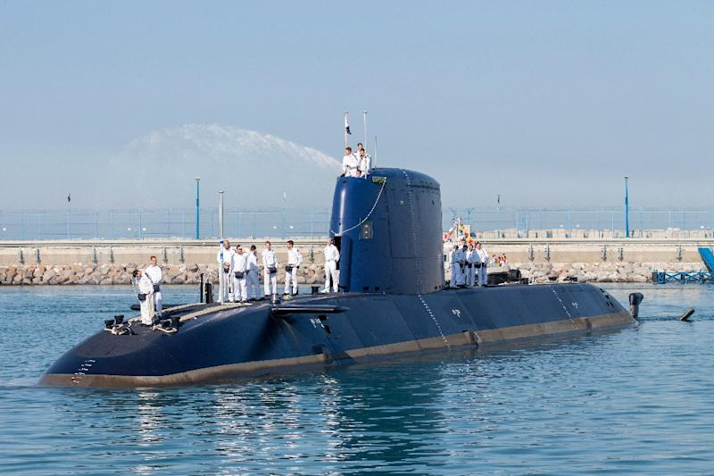 Israel has five of the state-of-the-art German submarines, with a sixth due for delivery in 2017