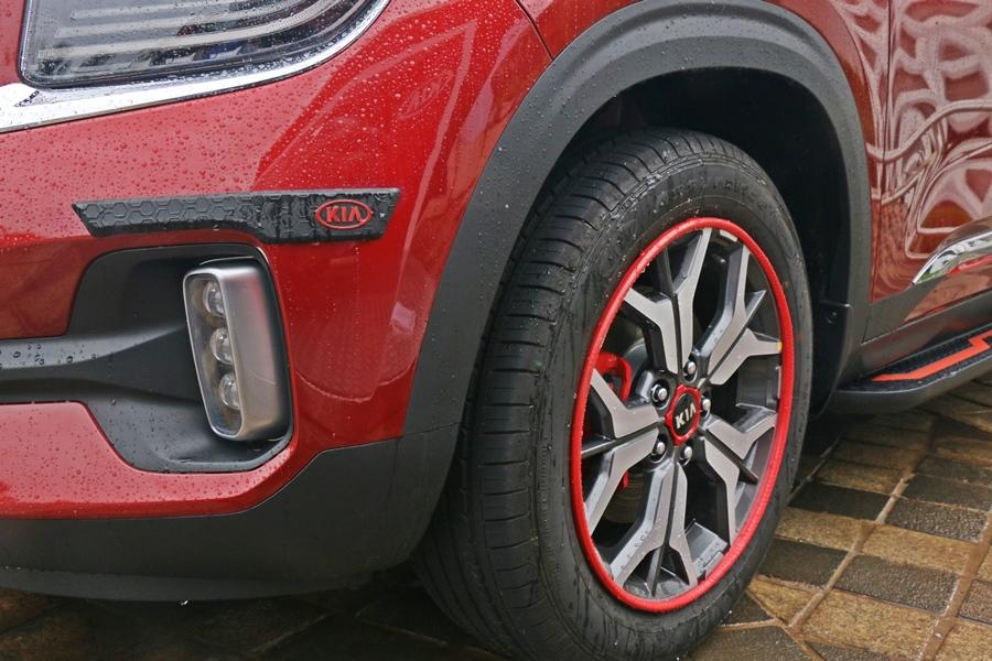 You also get alloy wheel protectors and bumper protectors.