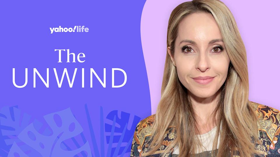 Gabby Bernstein opens up about her spiritual practice. (Photo: Getty; designed by Quinn Lemmers)