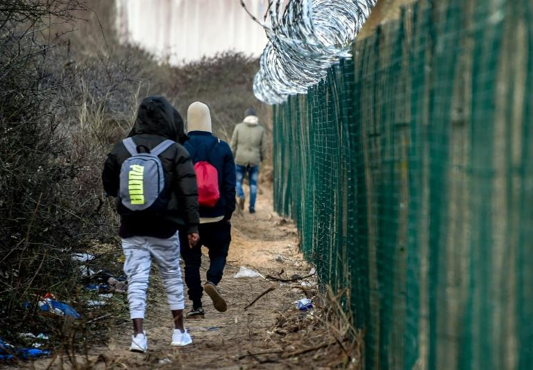 Migrants continue to head to the northern French port of Calais, hoping to make it to Britain