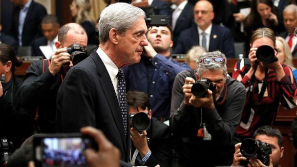 PHOTO: Former special counsel Robert Mueller arrives to testify before the House Judiciary Committee hearing on his report on Russian election interference, on Capitol Hill, July 24, 2019 in Washington. (Alex Brandon/AP Photo)