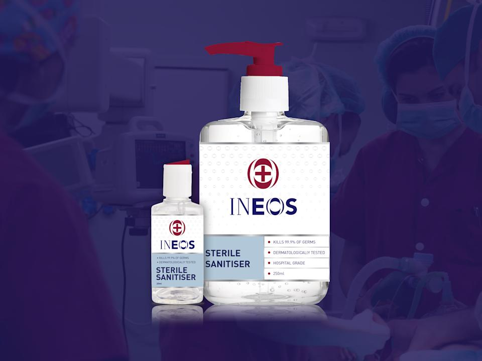 INEOS to build hand sanitiser plant near Middlesbrough in 10 days to make 1 million bottles per month
