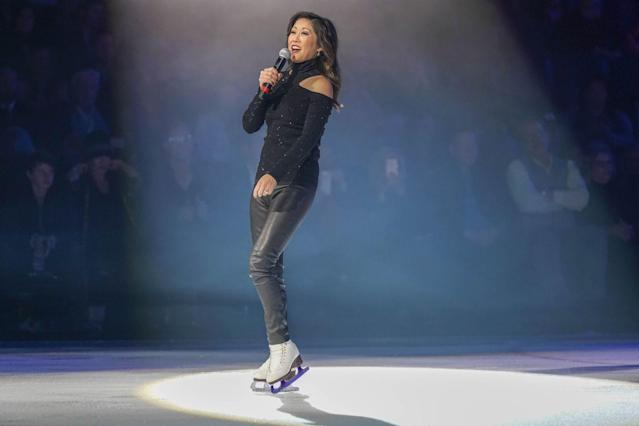 """<p>Kristi is still fully ingrained in the figure skating community. She was honored by the <a href=""""https://www.apnews.com/3b12d2267673425198df6fbeca37a229"""" rel=""""nofollow noopener"""" target=""""_blank"""" data-ylk=""""slk:Ice Theatre of New York in 2018"""" class=""""link rapid-noclick-resp"""">Ice Theatre of New York in 2018</a>.</p>"""