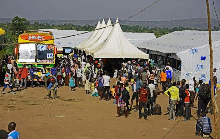 Uganda, one of the world's poorest countries, currently hosts 530,000 South Sudanese refugees, 330,000 of whom fled fighting in the world's newest country this year alone. (AFP Photo/ISAAC KASAMANI)