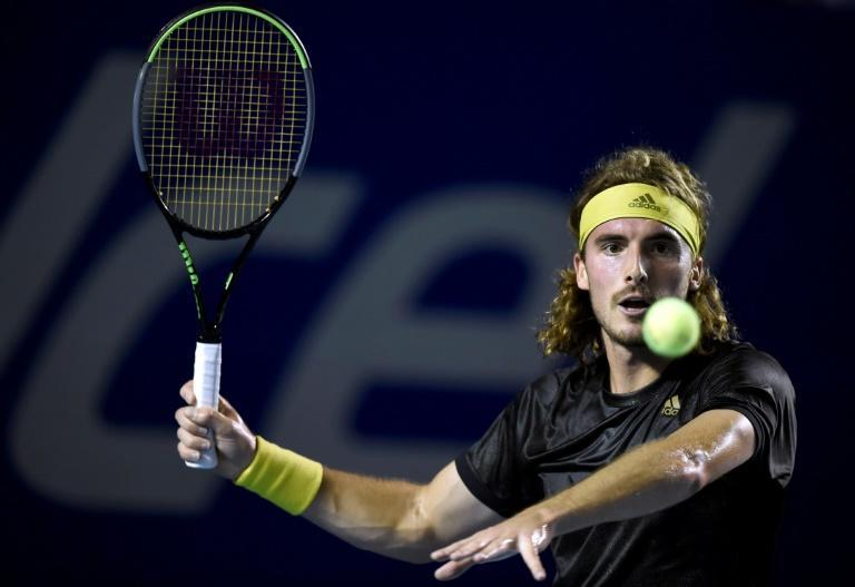 Greek second seed Stefanos Tsitsipas defeated Japanese 28th seed Kei Nishikori 6-3, 3-6, 6-1 after an hour and 56 minutes to reach the last 16
