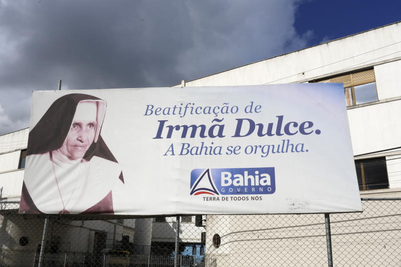 Irma (Sister) Dulce Pontes, (26 May 1914 – 13 March 1992) was a Brazilian Catholic Franciscan Sister who was the founder of the Obras Sociais Irma Dulce also known as the Charitable Works Foundation of Sister Dulce. (Photo by: Godong/Universal Images Group via Getty Images)