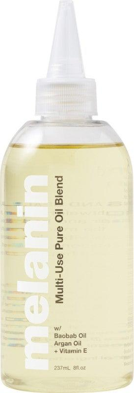 """<h3>Melanin Haircare Multi-Use Pure Oil Blend</h3><br>Make room in your top shelf for this Ulta newcomer, because once you sample a few drops of this decadent baobab- and argan-oil, you won't want to put anything else on your hair.<br><br><strong>Melanin Haircare</strong> Multi-Use Pure Oil Blend, $, available at <a href=""""https://go.skimresources.com/?id=30283X879131&url=https%3A%2F%2Fwww.ulta.com%2Fmulti-use-pure-oil-blend%3FproductId%3Dpimprod2018199%23locklink"""" rel=""""nofollow noopener"""" target=""""_blank"""" data-ylk=""""slk:Ulta Beauty"""" class=""""link rapid-noclick-resp"""">Ulta Beauty</a>"""