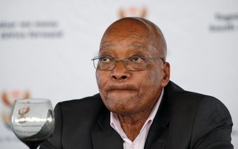 South Africa's president Jacob Zuma - Credit: Reuters