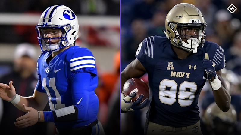 College football picks, Week 1: BYU-Navy a tough pick'em & more predictions for every FBS game