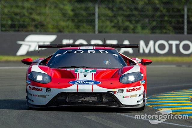 "#67 Ford Chip Ganassi Racing Ford GT: Andy Priaulx, Harry Tincknell, Jonathan Bomarito <span class=""copyright"">Paul Foster</span>"