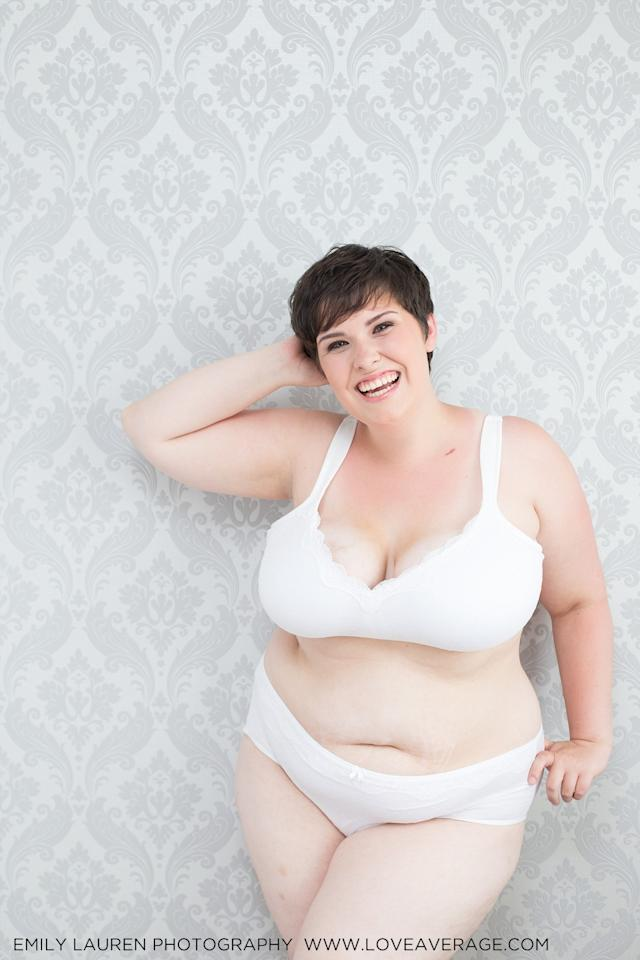 This photographer is taking body positivity to the next level