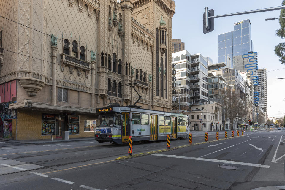 Victoria is under lockdown for the second time following a surge in coronavirus cases.  Source: AAP
