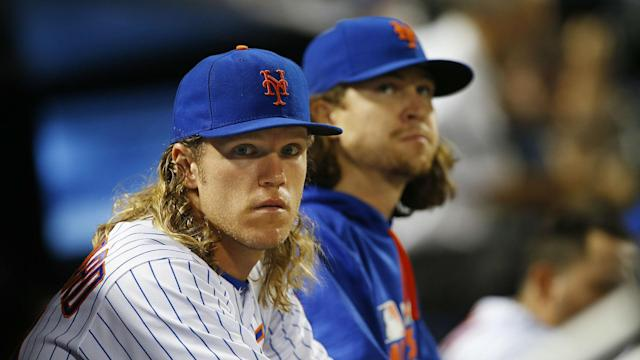 The New York Mets are willing to listen to possible trades for pitchers Jacob deGrom and Noah Syndergaard.